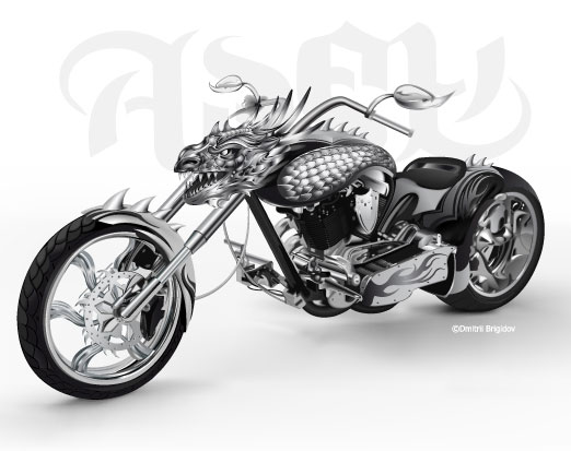 free vector Cool motorcycle vector leading