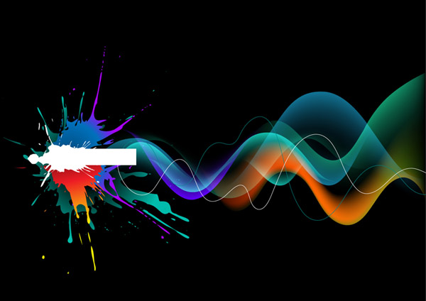 free vector Cool vector symphony