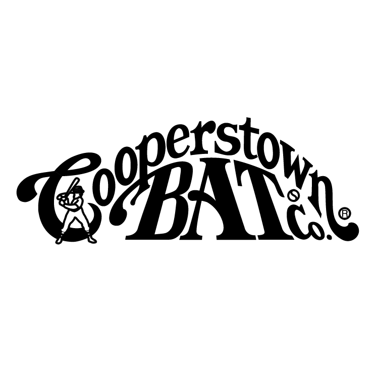 free vector Cooperstown bat