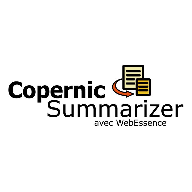 free vector Copernic summarizer