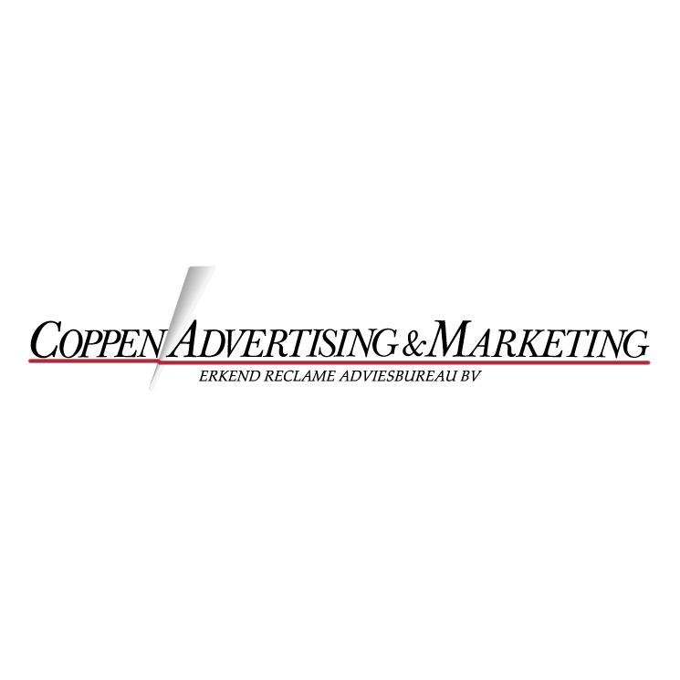 free vector Coppen advertising marketing