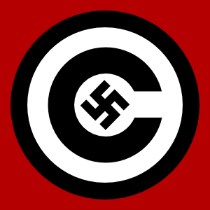 free vector Copyright With Nazi Symbol clip art