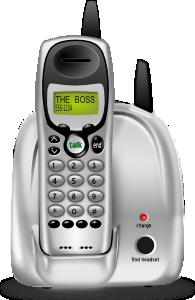 free vector Cordless Phone clip art