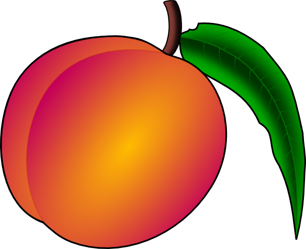 free vector Coredump Peach clip art