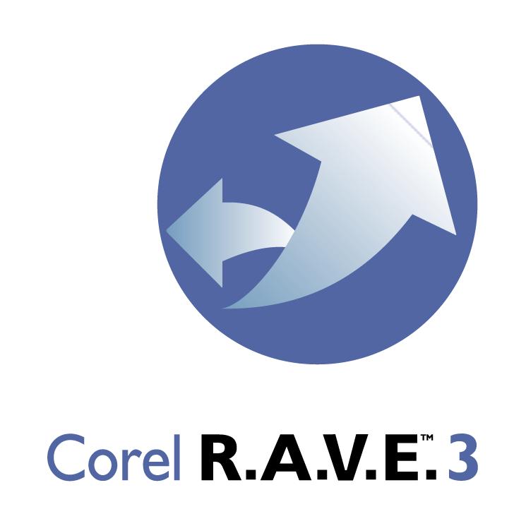 free vector Corel rave 3