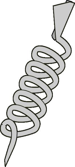 free vector Corkscrew Opener clip art