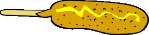 free vector Corndog clip art