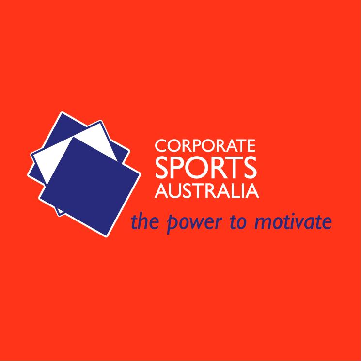 free vector Corporate sports australia