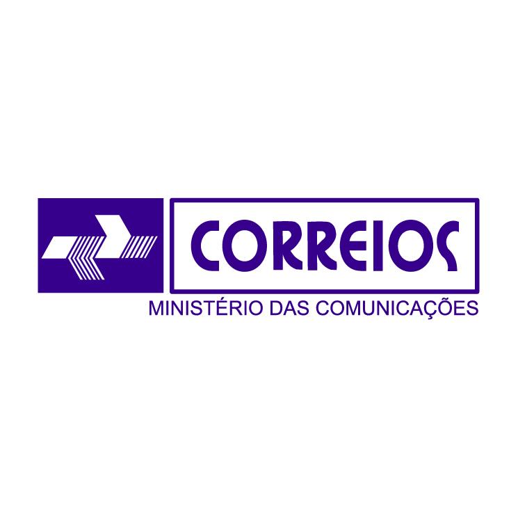 free vector Correios do brasil