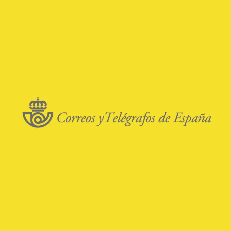 free vector Correos telegrafos de espana