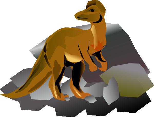 free vector Corythosaurus clip art