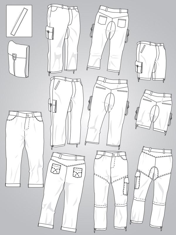 free vector Costume design vector
