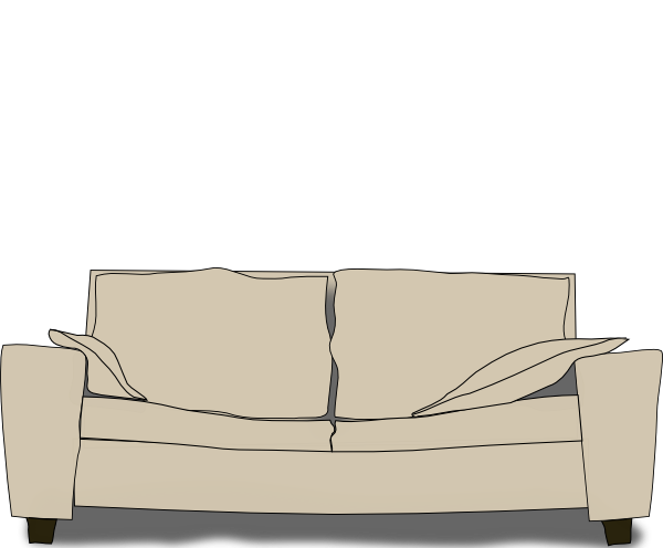 free vector Couch clip art