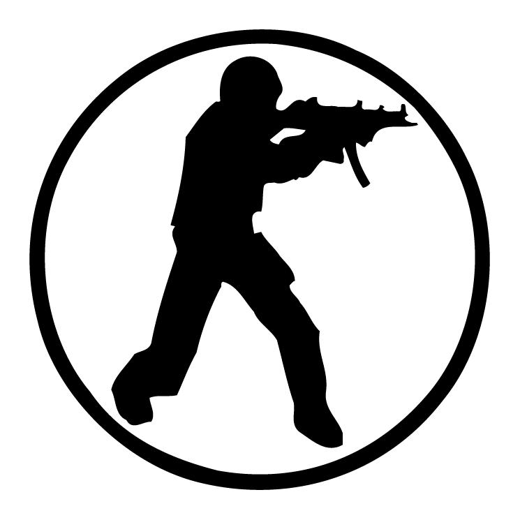 Counter Strike Logo Vector Counter Strike Vector