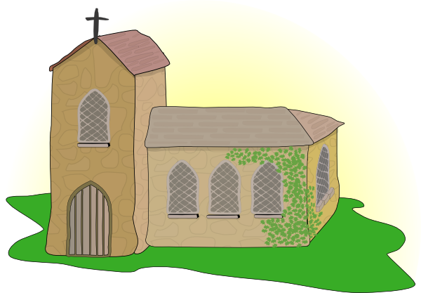 free animated church clip art - photo #36
