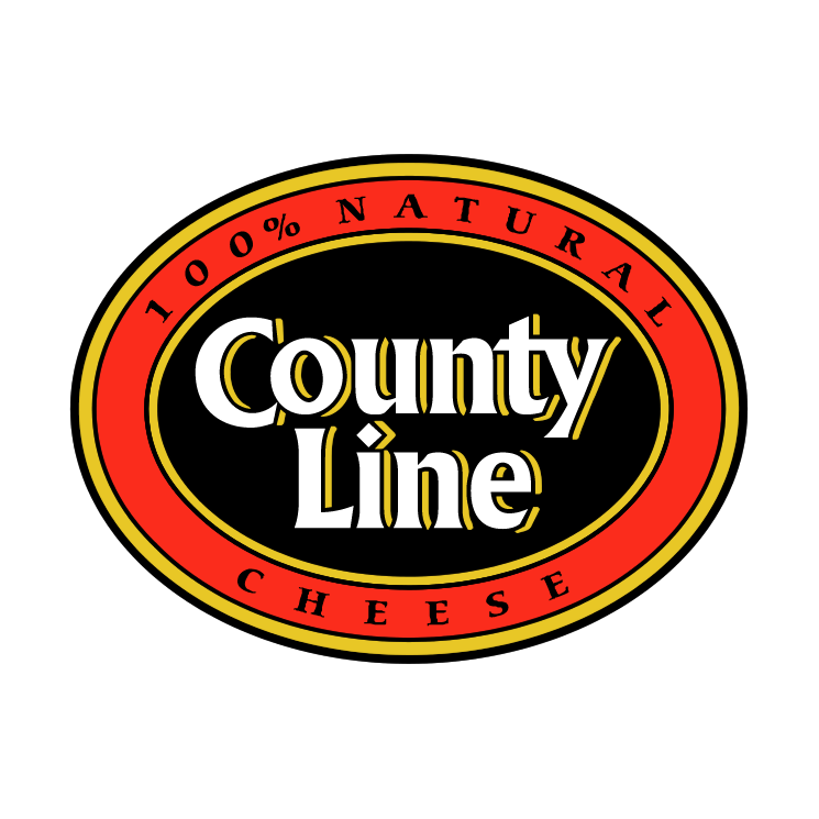 free vector County line