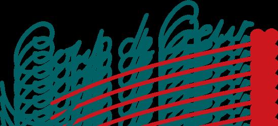 free vector Coup de coeur logo