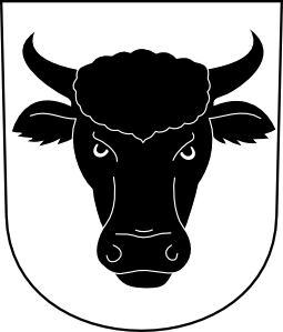 free vector Cow Bull Horns Wipp Urdorf Coat Of Arms clip art