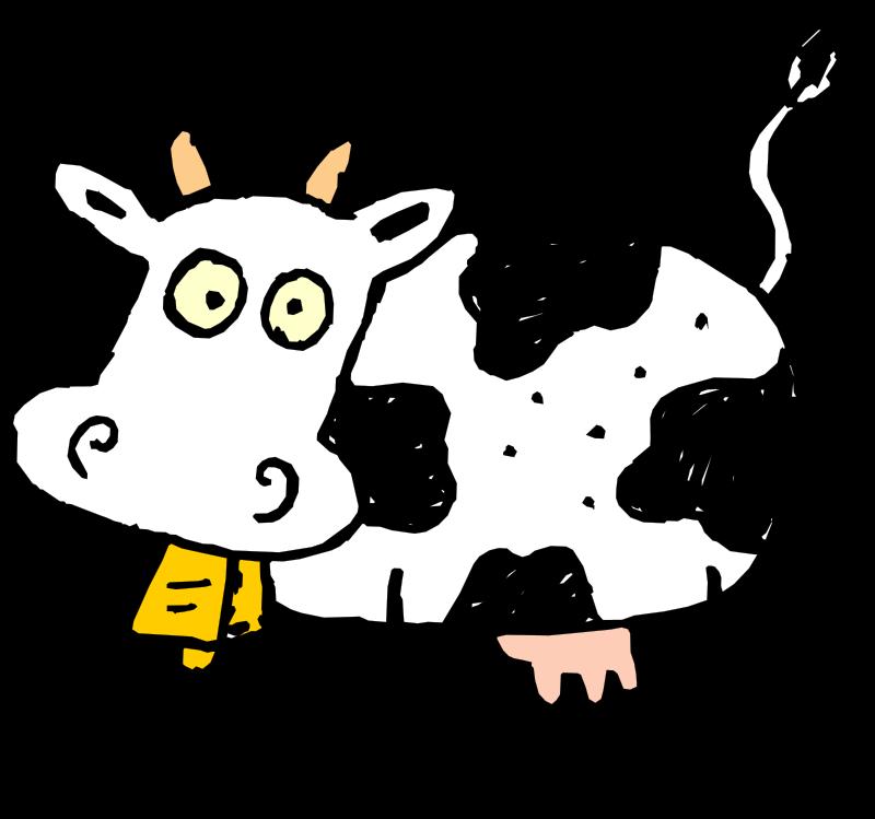 cow free vector 4vector rh 4vector com cow pattern vector free download cow silhouette vector free download