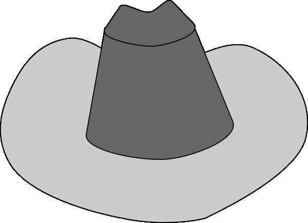free vector Cowboy Hat clip art