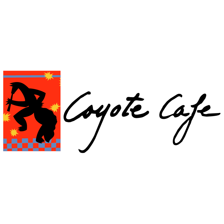 free vector Coyote cafe