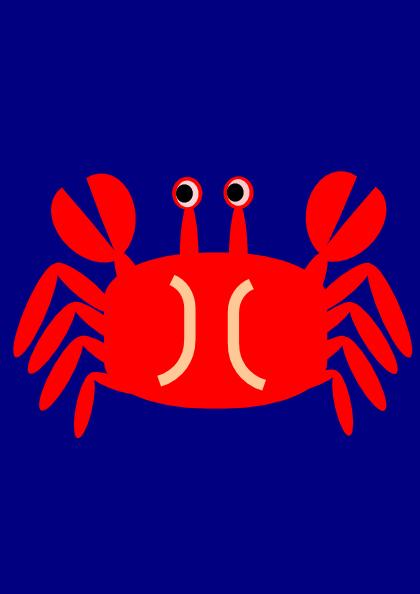 free vector Crab clip art