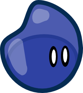 free vector Crankeye Blue Jelly clip art