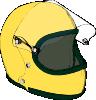 free vector Crash Helmet clip art