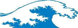 free vector Crashing Wave clip art