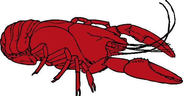 crayfish clip art free vector 4vector rh 4vector com Cajun Crawfish Clip Art Crawfish Boil Invitations Clip Art