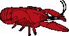 free vector Crayfish clip art