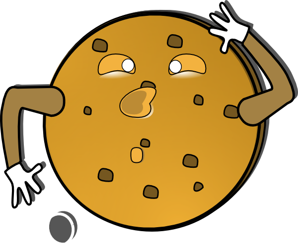 free vector Crazy Cookie clip art