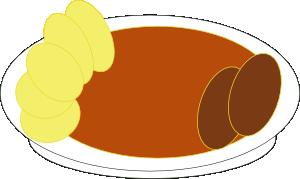 free vector Creamy Tomato Soup clip art