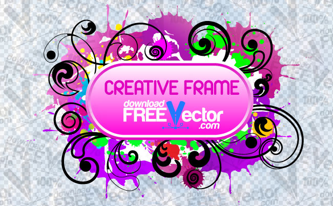 free vector Creative Frame