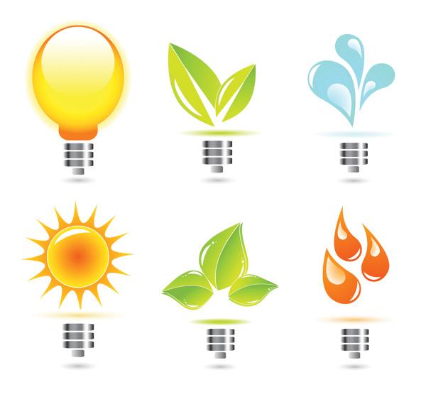 free vector Creative light bulb icon vector