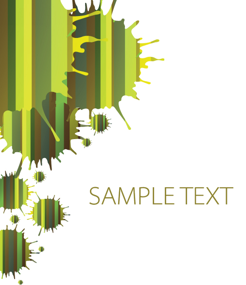 free vector Creativity dripping traces the background 05 vector