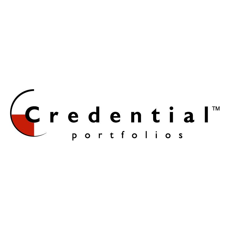 free vector Credential portfolios