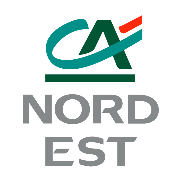 free vector Credit agricole nord est
