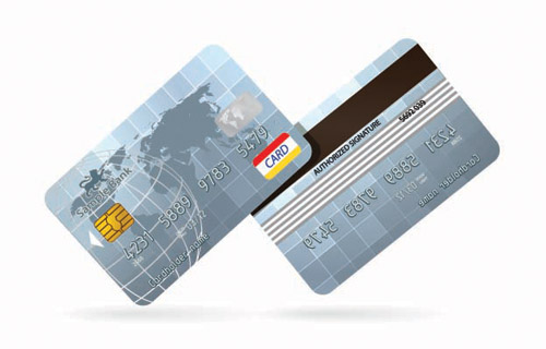 free vector Credit card bank card vector