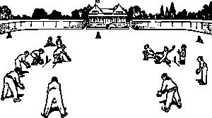 free vector Cricket Game clip art
