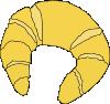 free vector Croissant clip art