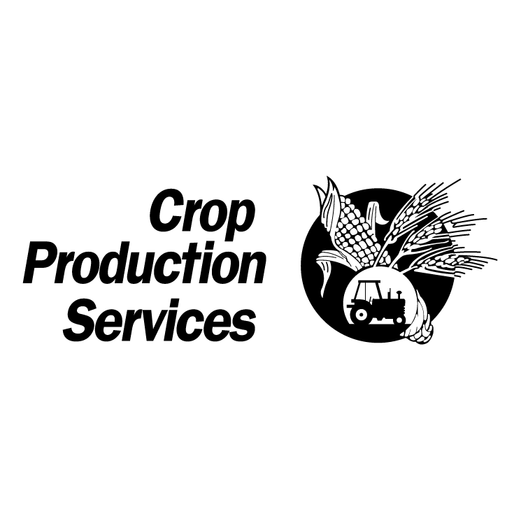 free vector Crop production services