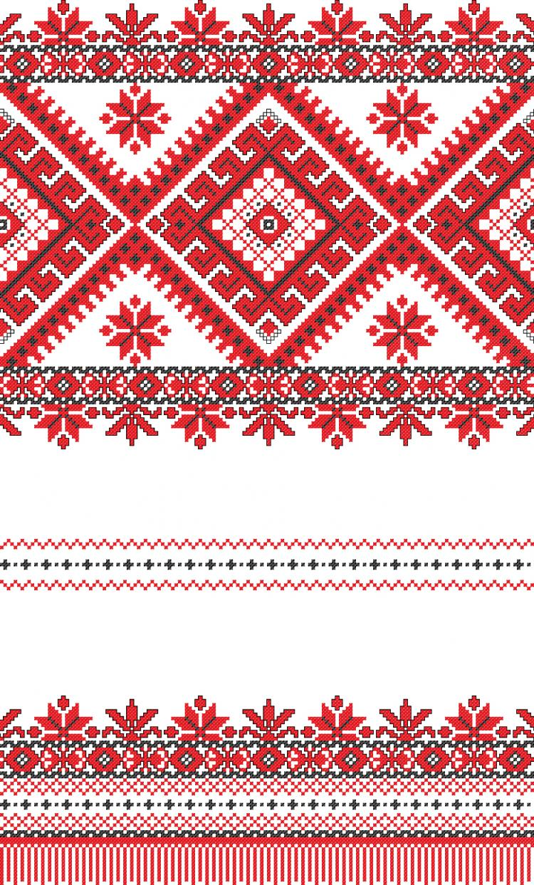 free vector Cross stitch patterns 01 vector