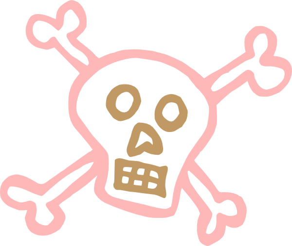 free vector Crossbones clip art