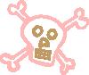 free vector Crossbones clip art