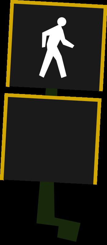 free vector Crosswalk Signal