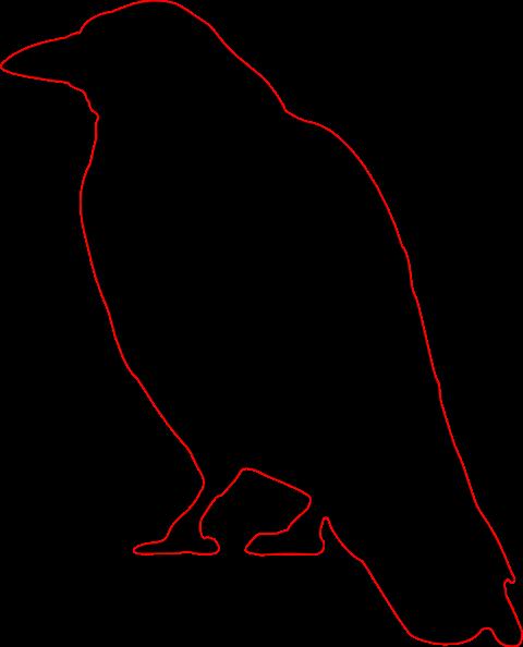 free vector Crow clip art