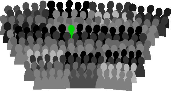 free vector Crowd clip art