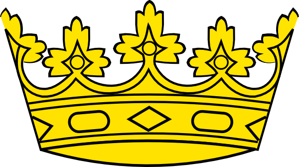 crown clip art free vector 4vector rh 4vector com princess crown clipart kings crown clipart