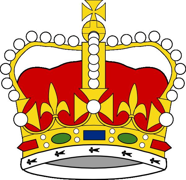 free vector Crown Of Saint Edward clip art
